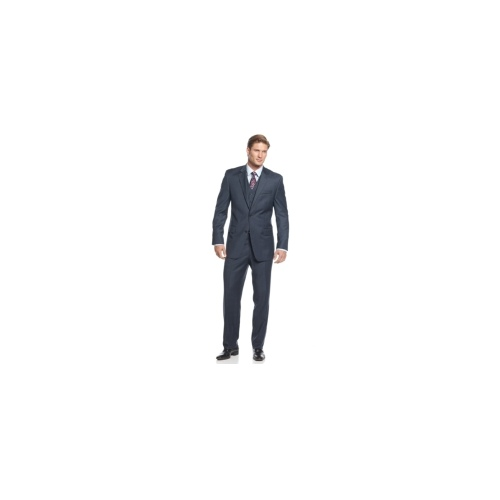Michael Michael Kors Suit, Blue Plaid Vested